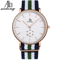 Stainless steel case japan movement slim line case 3ATM hot selling water resistant same model dw watches