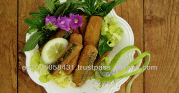 Atlantic crispy fingers - 100% vegan fish