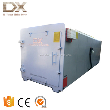 Dielectric heating High frequency vacuum wood dryer