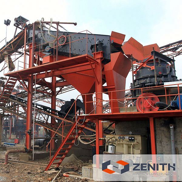 China supplier high performance hard stone breaker cone crusher