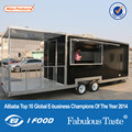 BAOJU FV-68 New model used food carts for sale food warmer cart with wheels electric mobile food carts