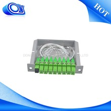 2016 New design 1*8 fiber optical plc splitter cassette type , fiber optical fiber splitter , mini optic splitter