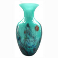 Chinese style antique glass vase