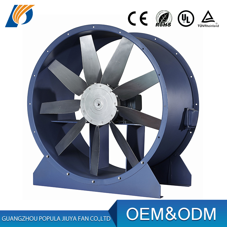 dc axial fan high cfm / axial flow blower fan