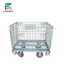 Manufacturers medium duty folding security storage folding cage