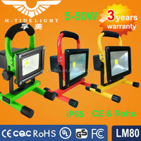 10W rechargeable led flood light ,portable led flood light, with 3 or 6 hours working