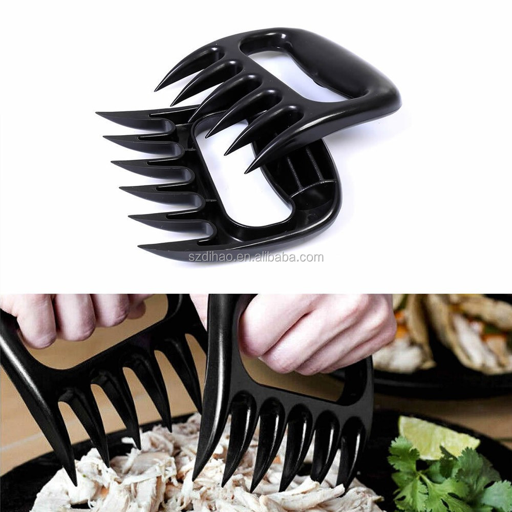 DIHAO Durable Home Kitchen Meat Shredder Bear Paw Pulled Pork Claws Meat Handlers for Pig&Beef&Chicken &Turkey