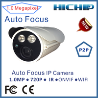 NetWork Technology P2P outdoor hd wifi ip camera with 2.8-12mm auto focus lens