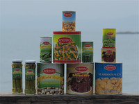 Canned vegetables legumes