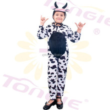 Wholesale animal cosplay costumes for kid cow mascot costume for carnival