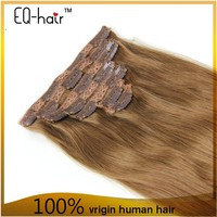 Top Quality Easy Clips Hair Extensions 26 Inch Human Hair Remy Clip In Hair Extensions