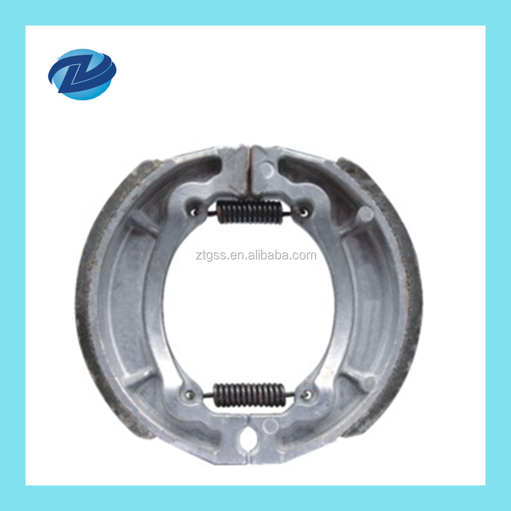 JD100 brake shoes for motorcycle
