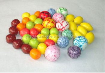 Best selling ! low price ball bubble gum base