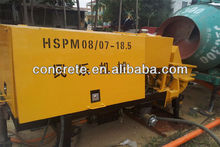 BV Certification concrete spraying pump with high quality