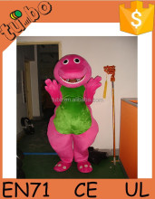 2015 hot saled adult inosaur mascot costume / walking dinosaur costume for party/event/exhibition/advertising