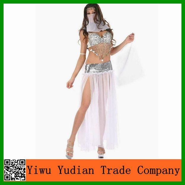 New Sequins India Sexy Belly Dance Costume