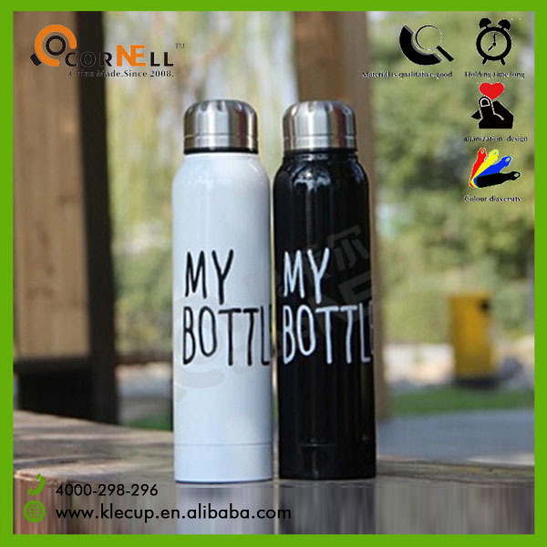 My Bottle Double Wall Stainless Steel Thermos Vacuum Flask 2015 South Korea Top Sale Product