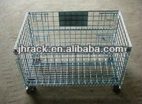 High quality steel galvanized wire storage cage