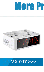 12 Years Gold Supplier OEM/ODM Phone Remote Bluetooth Radio Alarm Clock With mp3 Player