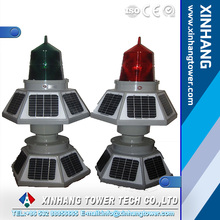 TXH-155LED low and medium intensity six solar panel aviation obstruction light warning light for tower chimmeys