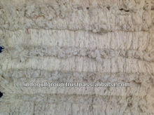 Washed sheep wool