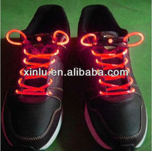 2013 newest design silicone LED shoelace