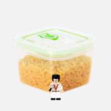 Cereals Storage Plastic Container With Flip Lid