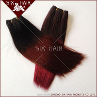 Top quality ombre hair extension,Wholesale virgin brazilian ombre hair weaves