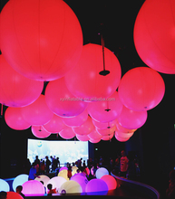 PVC interactive zygote ball, LED crowd ball for large events
