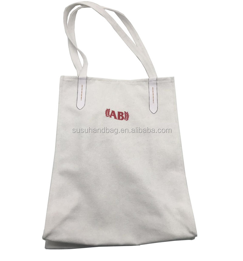 Plain Simple Cotton Bag With Custom Logo