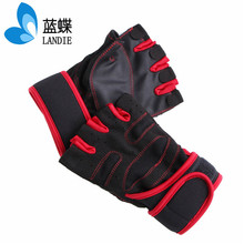 Fashionable Gym Gloves PU Leather Weight Lifting Fitness Sports Exercise