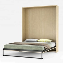 High quality affordable hotel bed or cheap futon sofa bed and Murphy bed folding wall
