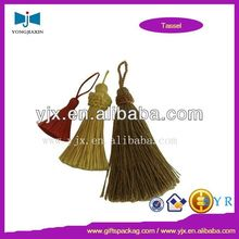 custom tassel with beads by alibaba