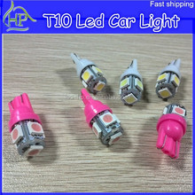 LED AUTO LIGHT BULB, CAR LED LAMP, T10 5SMD, INTERIOR LIGHT