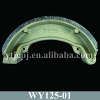 Good Quality Motorbike Brake Shoe Of WY125