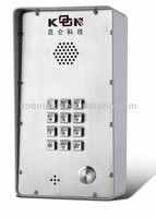 Best quality IP Intercom/ Door phone KNZD-43 mobile voip