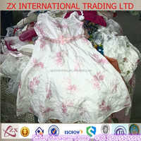 High quality colorful used clothes girl dress for Africa used clothing exporters Canada