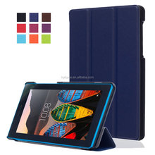 Slim Folio Stand Leather Case Cover Protective Skin Cover For Lenovo Tab3 7.0 Essential TB3-710F
