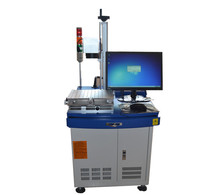 desktop type CO2 laser marking machine price 30w 60w 80w RF laser for nonmaterial marking