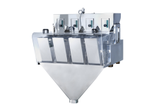 China high quality loose sugar modular weighing machine for 3L 4 head linear weigher with CE certification and high accuracy