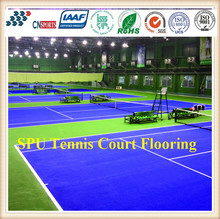 Stable Rebound Spu Acrylic Tennis Court Flooring Coating