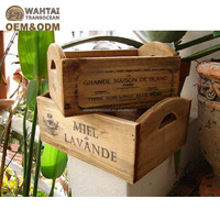 Cheap Wood Fruit Crate For Sale