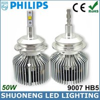 High Luminous 25W 3000lm Factory Supply 9007 LED Offroad Philips Head Bulb