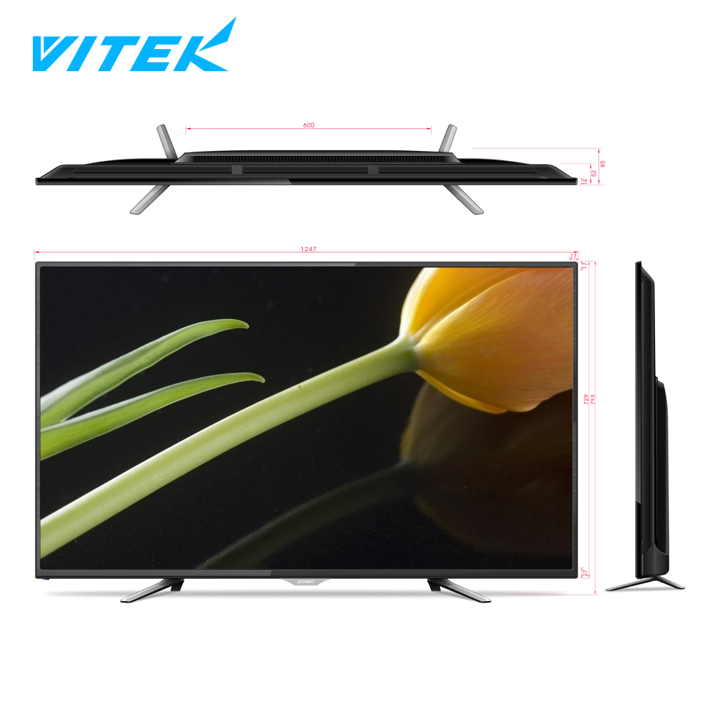 China Factory Big size 55 75 86 inch LED TV FHD UHD LCD television