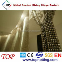 Decorative Metal Beaded String Stage Curtain