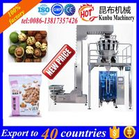 Full Automatic Granule black tea leaves bag Packing Machine for 1kg pouches 0086-13817357426