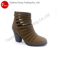 Best-Selling Custom High Quality Sex Ankle Tube High Heel Boot