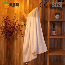 Hot sell microfiber good hand feeling hotel bath towel