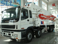 Zhengzhou Sincola Cheap mini concrete pump truck