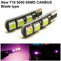 Guangdian led smd t10 canbus 5050 canbus auto light bent type